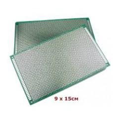 Макетная плата 10х15см (текстолит)